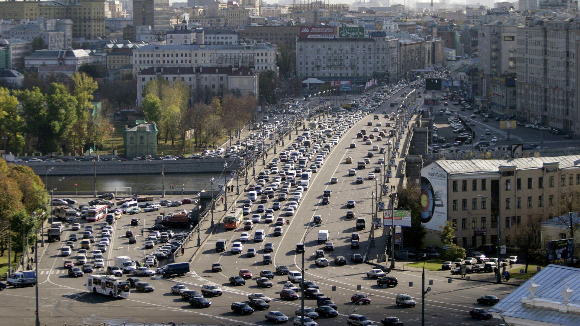 Москва с верхней точки. Вид на Большой Каменный мост с Дома Пашкова - РИА Новости, 1920, 07.05.2021