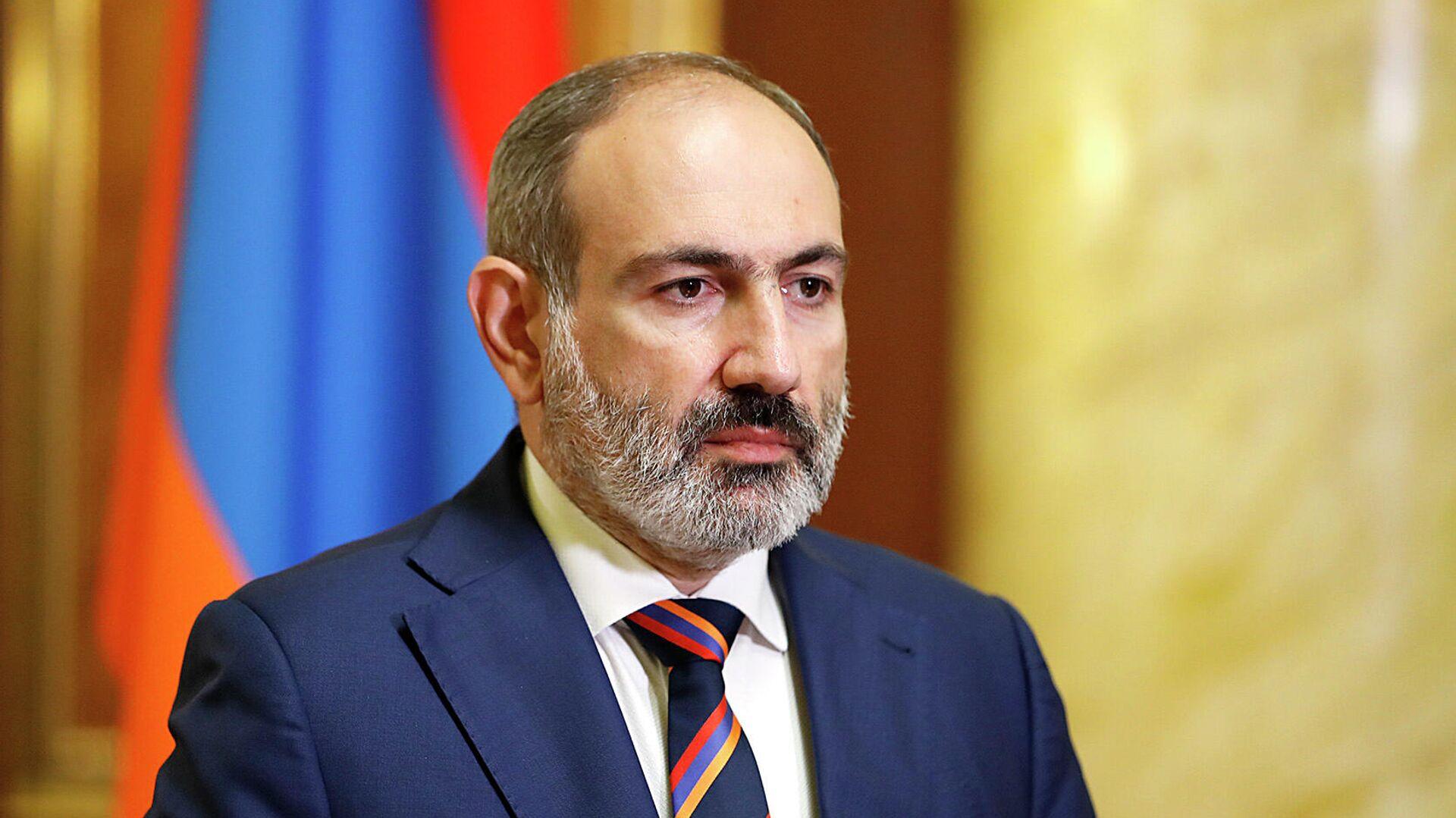 Премьер-министр Армении Никол Пашинян  - РИА Новости, 1920, 18.11.2020