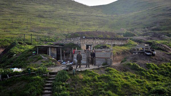 Военные в Нагорном Карабахе