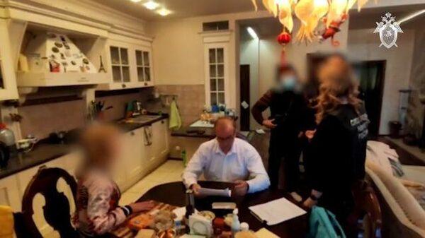 Следственные действия по делу депутата Левченко. Кадры СК