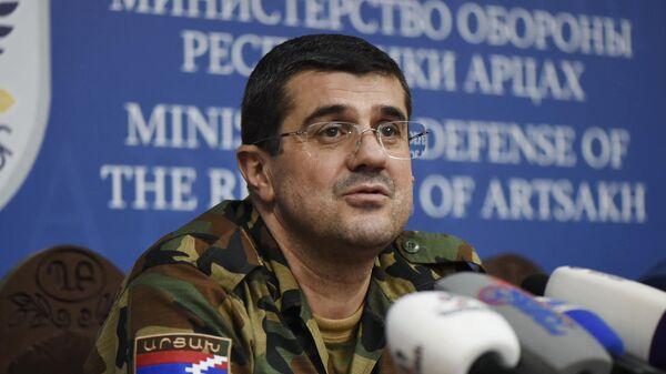 Президент самопровозглашенной Нагорно-Карабахской Республики Араик Арутюнян