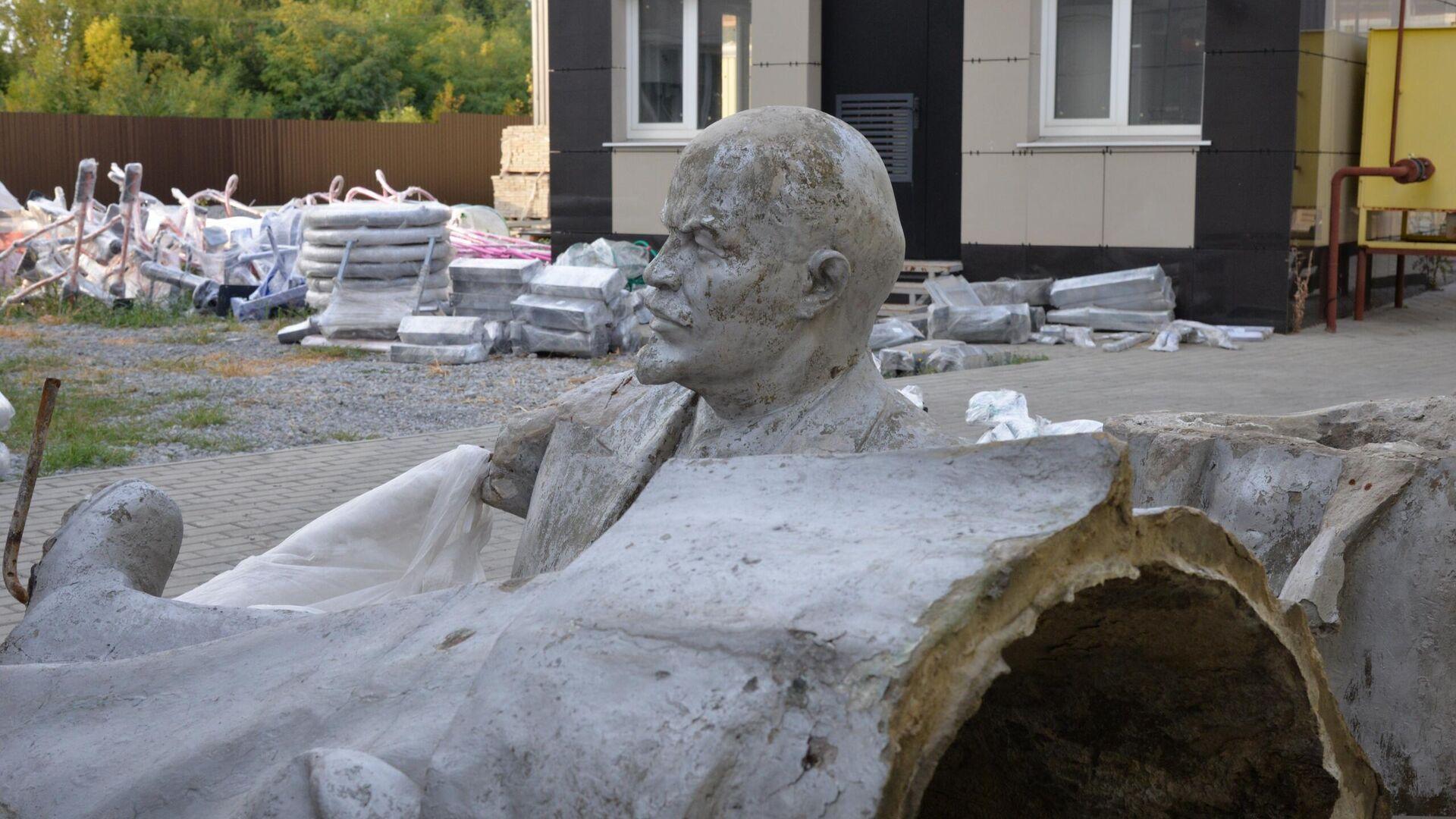 Памятник Ленину, демонтированный в Белгороде - РИА Новости, 1920, 29.09.2020