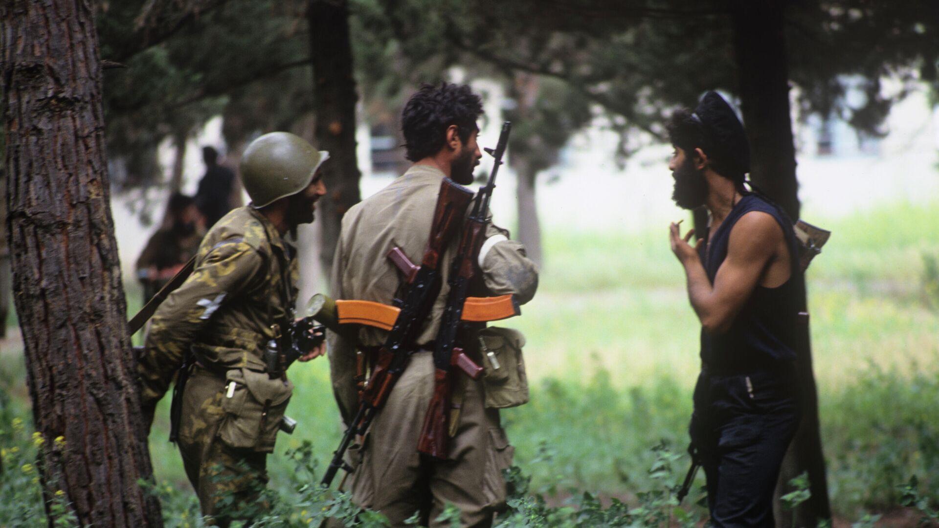 Военные действия в Мартакертском районе Нагорного Карабаха - РИА Новости, 1920, 29.09.2020