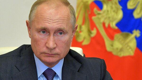 Президент РФ Владимир Путин в режиме видеоконференции провел совещание о развитии и декриминализации лесного комплекса
