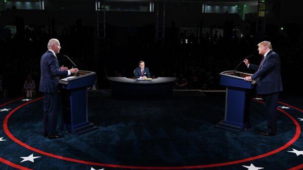 Дебаты Дональда Трампа и Джо Байдена в Кливленде, США