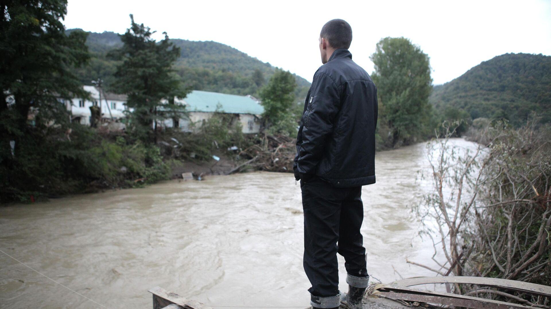 Последствия наводнения в Краснодарском крае - РИА Новости, 1920, 30.09.2020