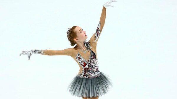 Фигуристка Елизавета Берестовская (Россия)