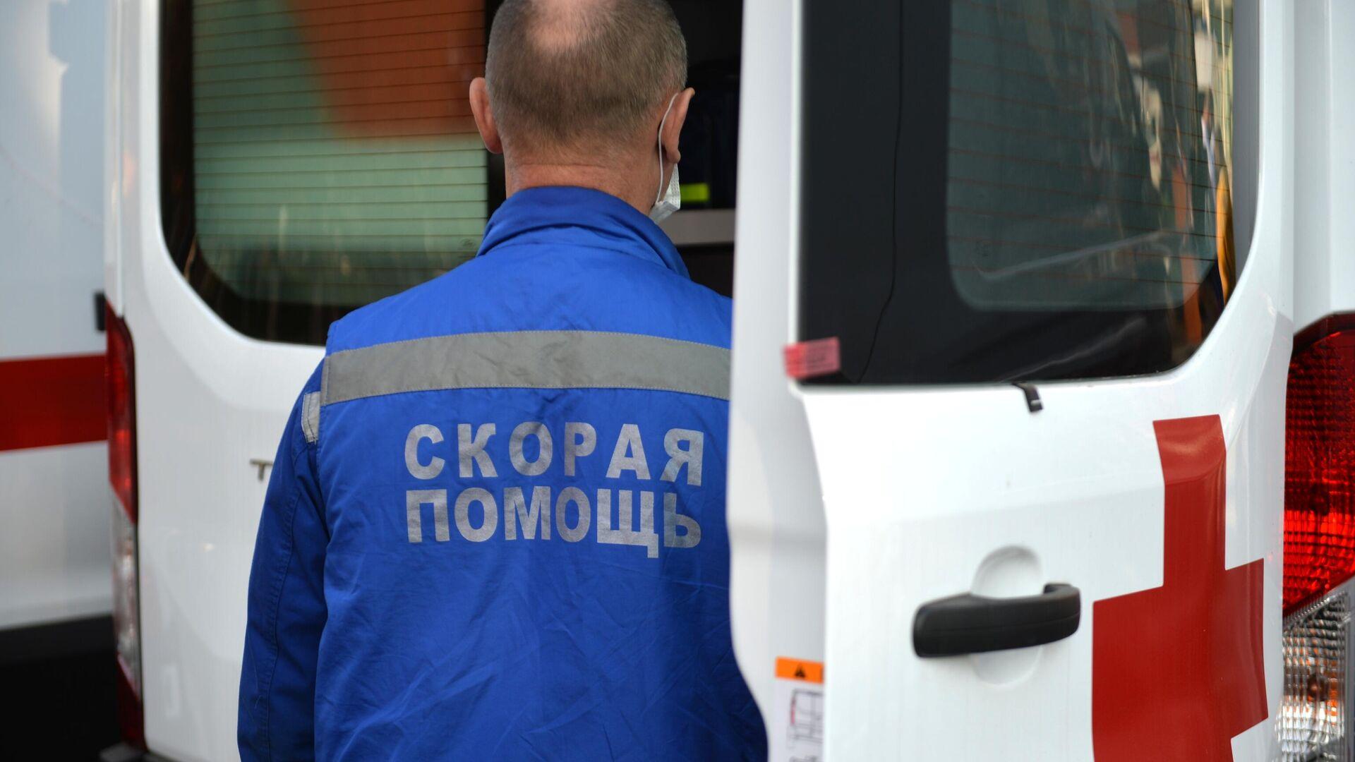Машина скорой помощи - РИА Новости, 1920, 06.06.2021