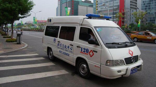 Автомобиль службы скорой помощи Китая