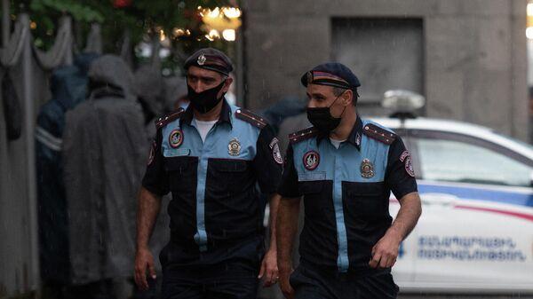 Сотрудники правоохранительных органов Армения