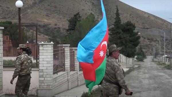 Военные Азербайджана в селе Талыш, Нагорный Карабах