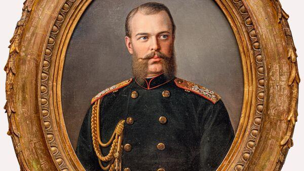 Портрет великого князя Александра Александровича работы Ивана Извекова