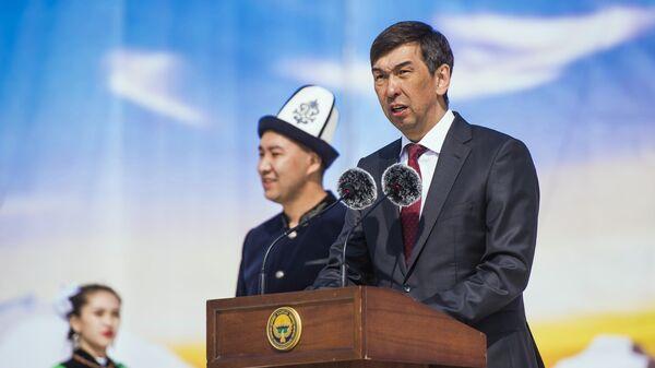 Мэр Бишкека Азиз Суракматов