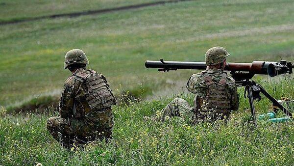 Военные учения с участием спецподразделений ВС Грузии, Турции и Азербайджана Кавказский орел