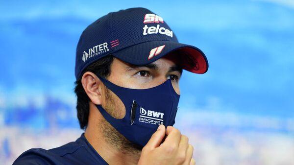Мексиканский гонщик Серхио Перес