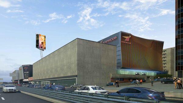 Проект комплекса с кинотеатром на улице Орджоникидзе в Москве
