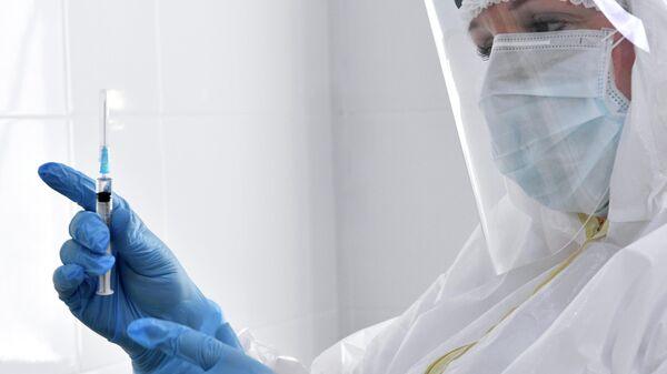 Вакцинация врачей от коронавируса в Краснодаре