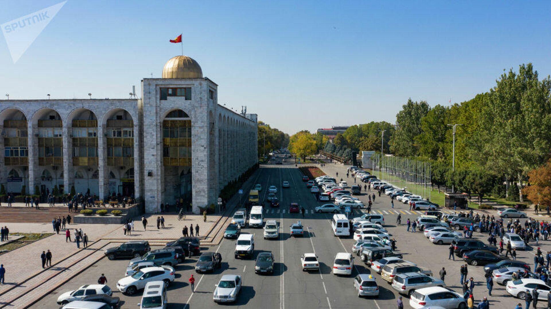 Ситуация в Бишкеке. 8 октября 2020 - РИА Новости, 1920, 23.10.2020