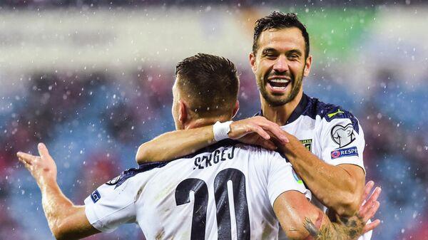 Футболисты сборной Сербии