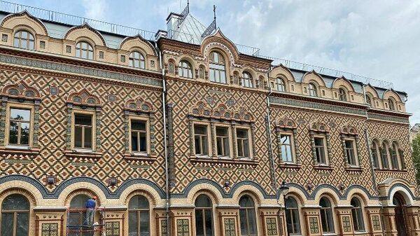 Дом Лопатиной в Москве, в котором с 1963 года размещается резиденция посла Бразилии в РФ