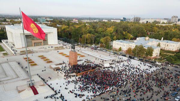 Ситуация в центре Бишкека