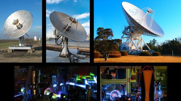 Система сверки оптических атомных часов