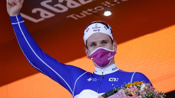 Велогонщик Арно Демар (Франция)