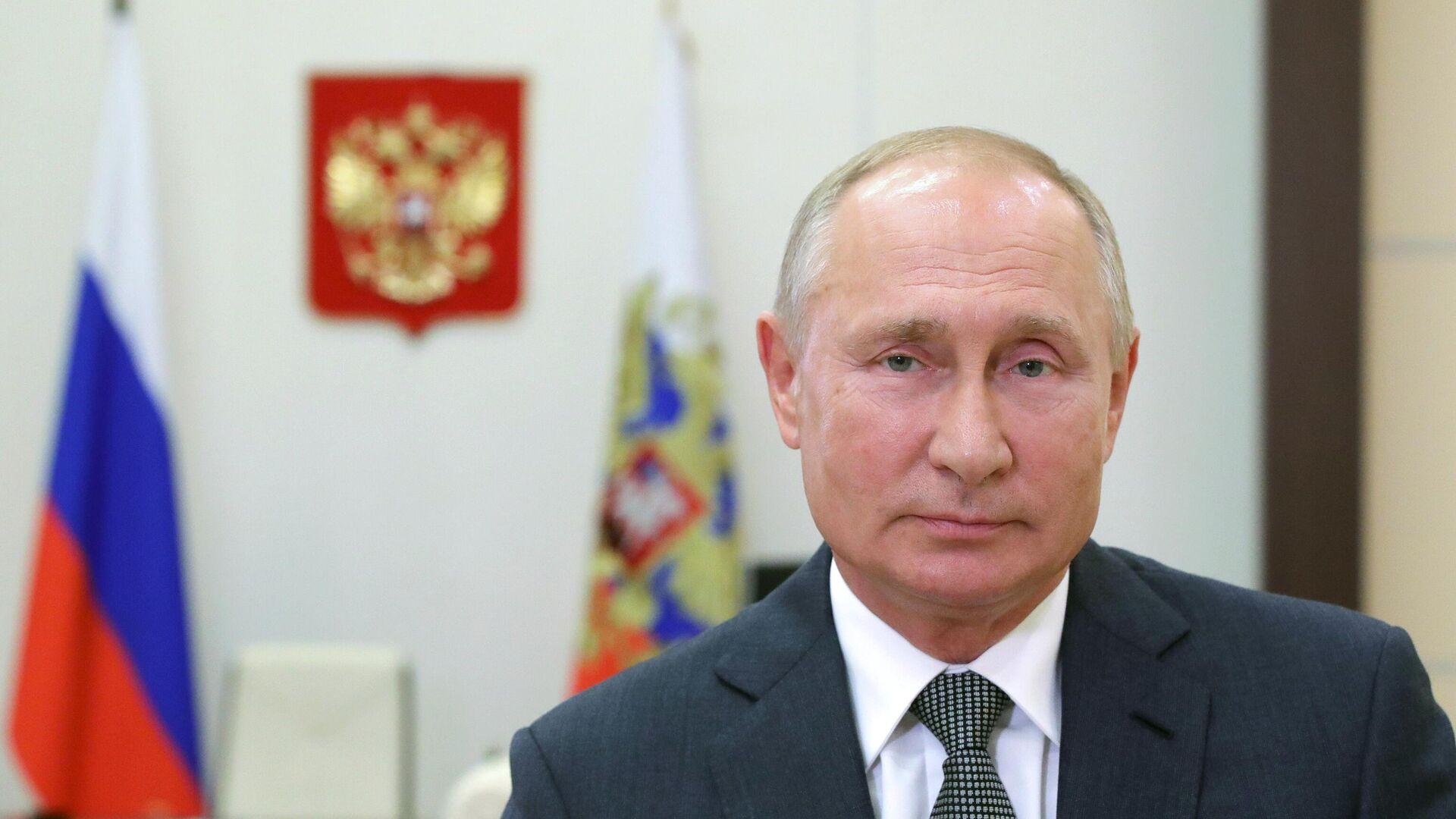Президент России Владимир Путин - РИА Новости, 1920, 23.10.2020