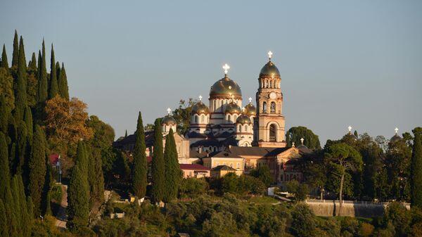 Ново-Афонский Симоно-Кананитский монастырь в Новом Афоне