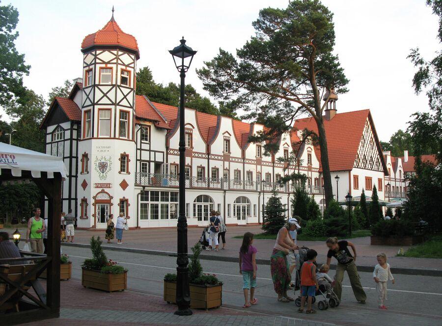 Гостиный двор Раушен в Светлогорске