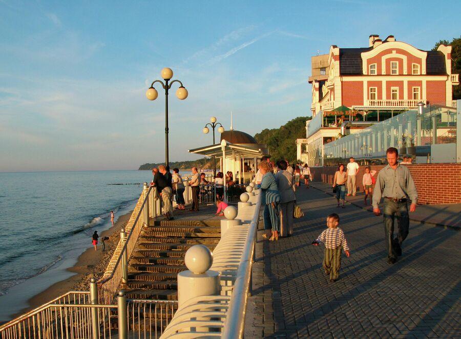 Побережье Балтийского моря, город Светлогорск
