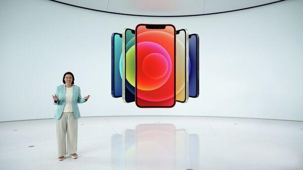 Презентация смартфона iPhone 12