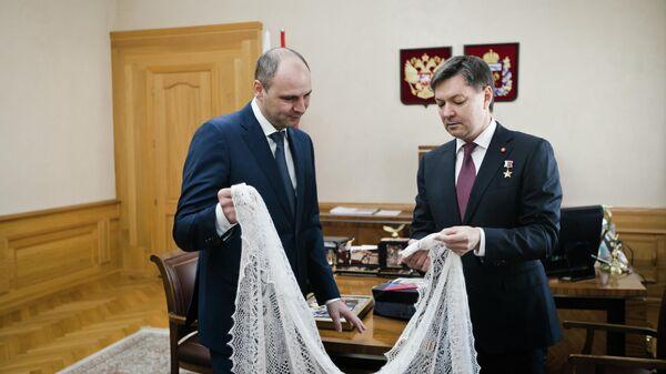 Паслер: Оренбургский платок покорил новую высоту
