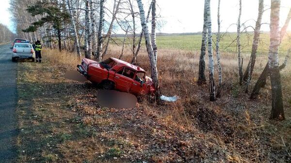 НА месте ДТП с погибшими в Рыбинском районе Красноярского края