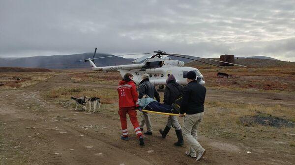 Эвакуация пациента с желудочно-кишечным кровотечением
