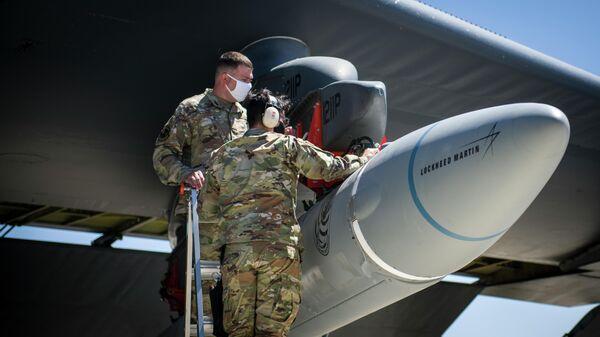 Испытания гиперзвуковой крылатой ракеты AGM-183A Air-Launched Rapid Response Weapon (ARRW)