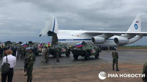 Россия отправила бронетехнику в Центральноафриканскую республику