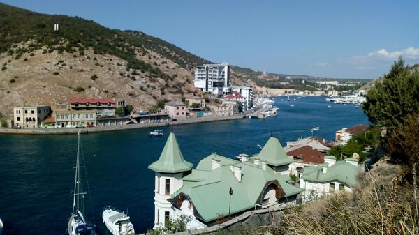 Вид на Балаклавскую бухту