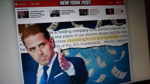 Материал о коррупции сына Байдена в New York Post