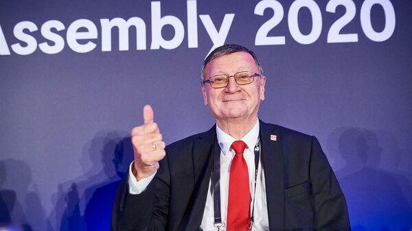 Глава Европейской конфедерации волейбола (CEV) Александр Боричич