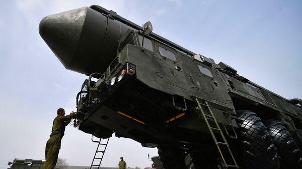 Транспортно-пусковой контейнер комплекса РС-24 Ярс