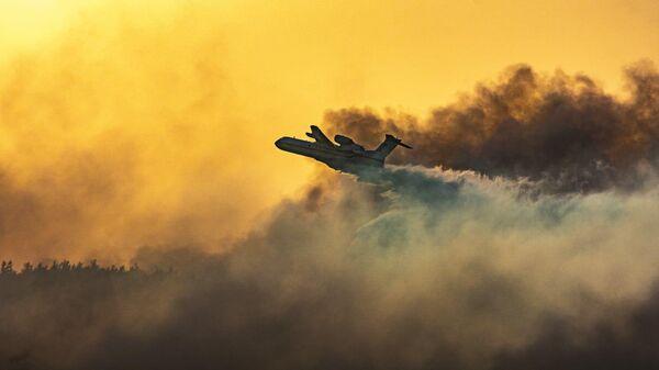 Российские самолеты-амфибии, тушившие пожары в Турции