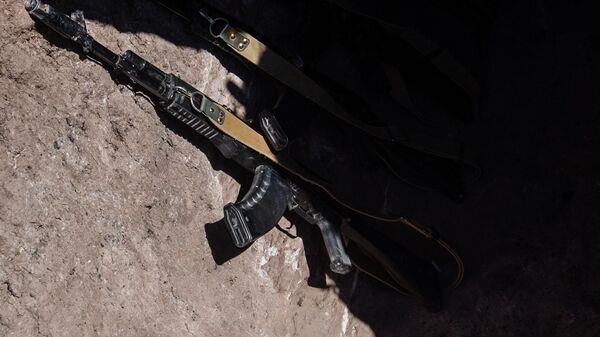 Оружие военнослужащих армии обороны Нагорно-Карабахской республики