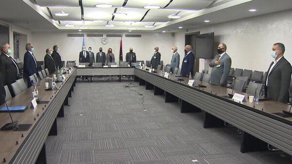 Переговоры ливийских военных делегаций в Женеве