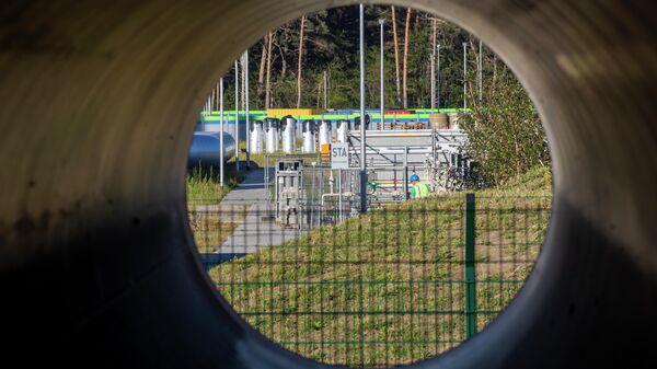 Строительства газопровода Северный поток-2 в Германии
