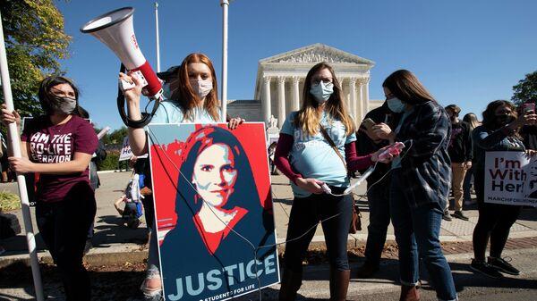 Демонстрации в Вашингтоне