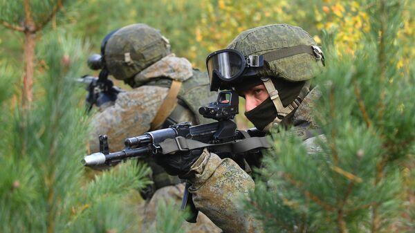Военнослужащие соединения специального назначения ЗВО