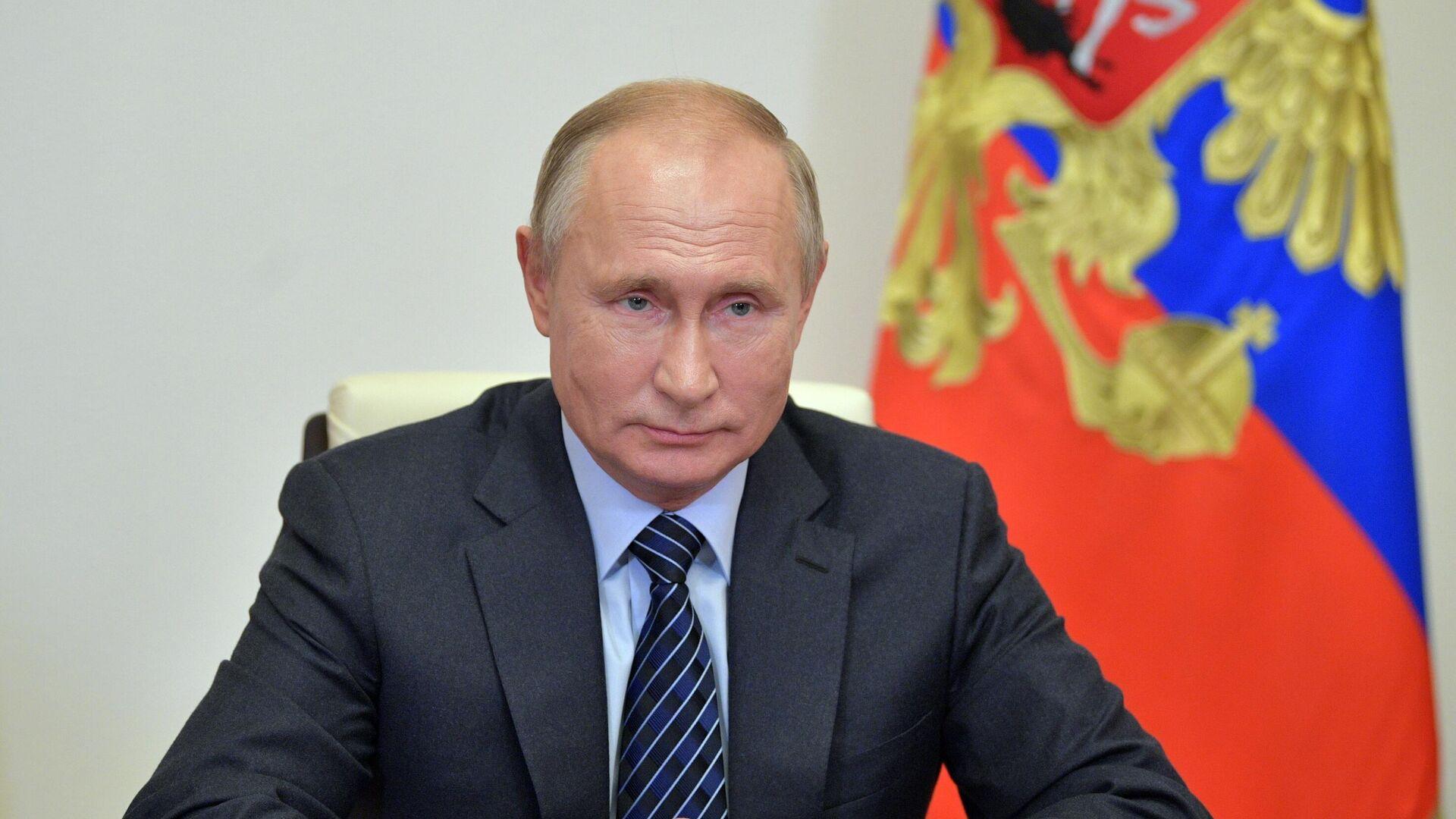Президент РФ Владимир Путин  - РИА Новости, 1920, 28.10.2020