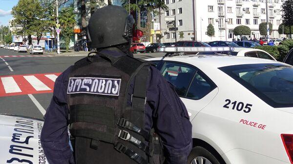 Грузинский полицейский