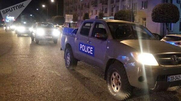 Ситуация на месте захвата заложников в Зугдиди